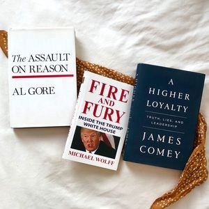 💐POLITICAL BOOKS BUNDLE by Al Gore & more!🌸